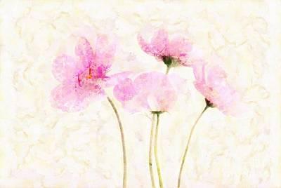 Floralitou - 1213w19 Art Print