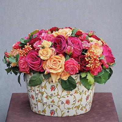 Photograph - Florals No. 3 by Steve Tobus