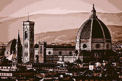 Painting - Florence - 13 by Andrea Mazzocchetti