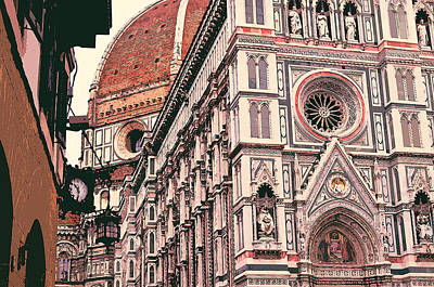 Painting - Florence - 15 by Andrea Mazzocchetti