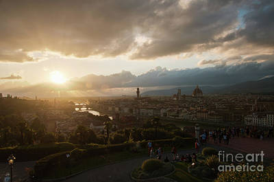 Photograph - Florence, After The Storm by Leonardo Fanini