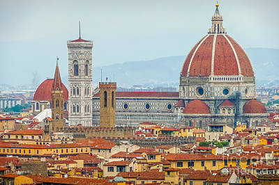 Photograph - Florence And The Roofs by JR Photography