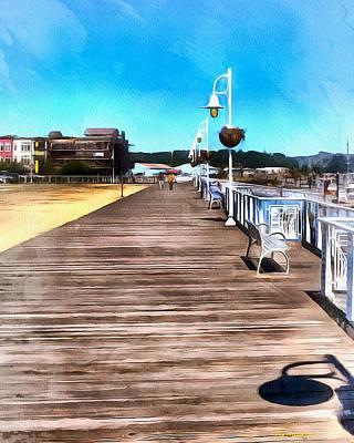 Florence Boardwalk Art Print