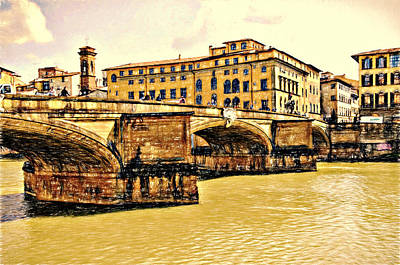 Photograph - Florence Bridge by Bill Howard