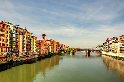 Photograph - Florence Bridge by Maria Coulson