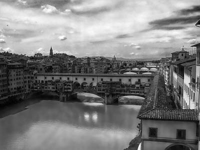Photograph - Florence Bridges Bw by C H Apperson