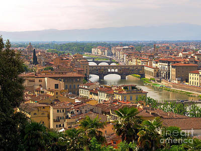 Photograph - Florence Bridges by Haleh Mahbod