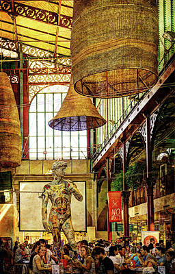 Photograph - Florence - Central Market Restaurants - Mercato Centrale by Weston Westmoreland
