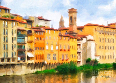 Painting - Florence by Chris Armytage