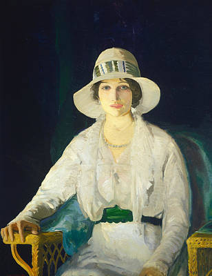 Bellows Wall Art - Painting - Florence Davey by George Bellows