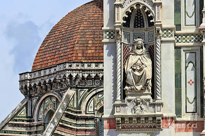 Photograph - Florence Duomo  9461 by Jack Schultz