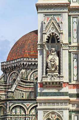 Photograph - Florence Duomo  9462 by Jack Schultz