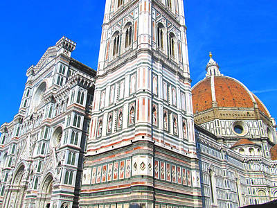 Painting - Florence Duomo Cathedral by Lisa Boyd