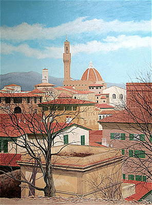 Painting - Florence by E Colin Williams ARCA