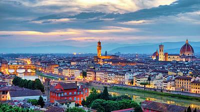 Photograph - Florence by Fabrizio Troiani
