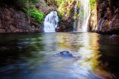 Photograph - Florence Falls In Litchfield National Park, Nt, Australia. by Daniela Constantinescu