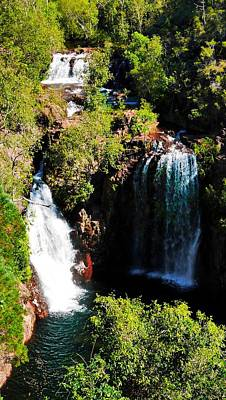 Photograph - Florence Falls, Litchfield National Park by Lexa Harpell