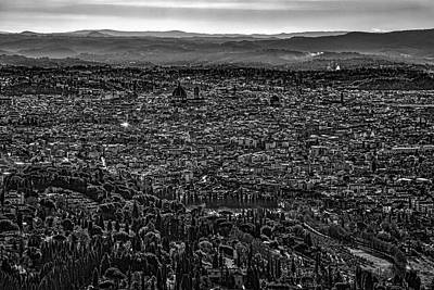 Photograph - Florence From Fiesole by Sonny Marcyan