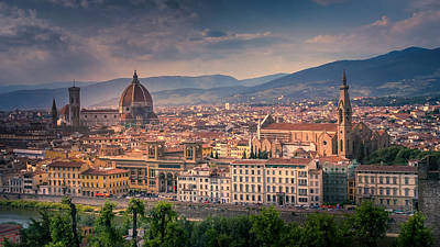 Photograph - Florence, Italy by Allin Sorenson