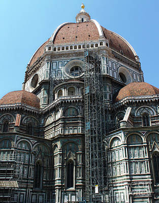 Photograph - Florence Italy Duomo by Gregory Dyer