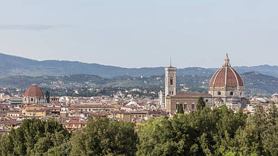Photograph - Florence Italy From The Hill  by John McGraw