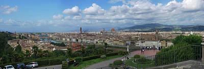 Photograph - Florence Italy by S Paul Sahm