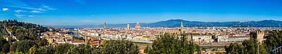 Photograph - Florence Landscape by Alfio Finocchiaro