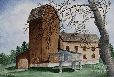Painting - Florence Mill 2 by Kathleen Keller