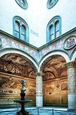 Photograph - Florence Museum by Maria Coulson