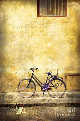 Photograph - Florence Music Bicycle by Craig J Satterlee