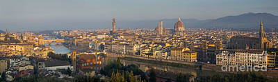 Photograph - Florence Panoramic by Brian Jannsen