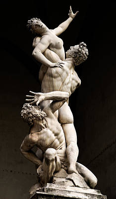 Photograph - Florence - Rape Of The Sabine Women by Weston Westmoreland