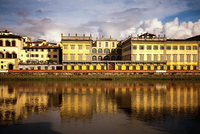 Florence Reflections Art Print by Andrew Soundarajan