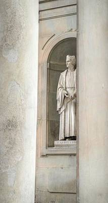Photograph - Florence Statue by Bill Hamilton