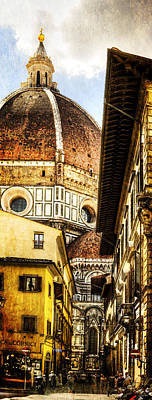 Photograph - Florence - The Duomo Emerges by Weston Westmoreland