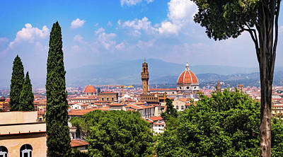 Photograph - Florence View From Bardini Gardens by Carolyn Derstine