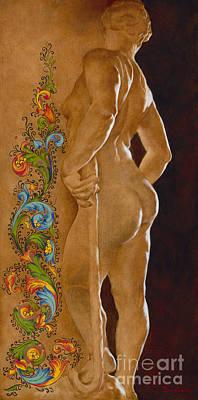 Painting - Florentia by Kelly Borsheim