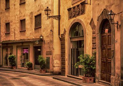 Photograph - Florentine Street by Mick Burkey