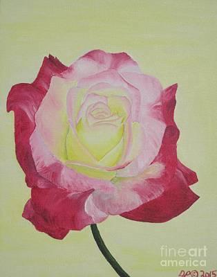 Floribunda Painting - Florentino by Danielle Paredi