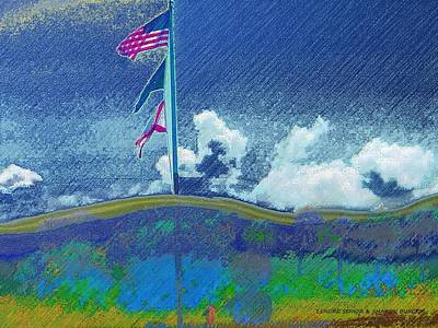 4th Of July Mixed Media - Florida 4th Of July by Lenore Senior and Sharon Burger