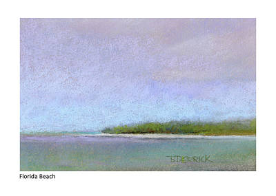 Pastel - Florida Beach I by Betsy Derrick