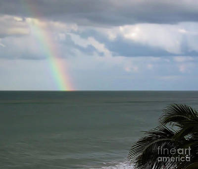 Photograph - Florida - Beach - Rainbow by D Hackett