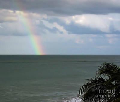 Photograph - Florida - Beach - Rainbow by D Hackett