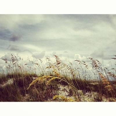 Beach Wall Art - Photograph - #florida #beach #sky by Joan McCool