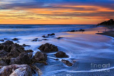Photograph - Florida Beach Sunset by Ben Graham