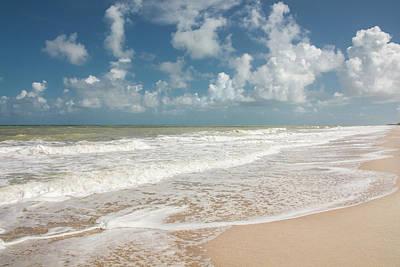 Atlantic Ocean Photograph - Florida Beach by Zina Stromberg