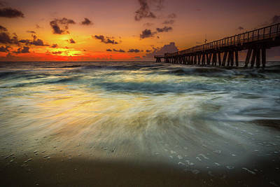 Florida Breeze Print by Edgars Erglis