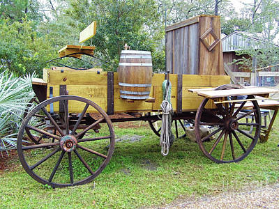 Photograph - Florida Chuck Wagon by D Hackett
