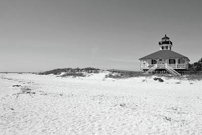 Photograph - Florida Class Lighthouse Beach Landscape by Andrea Hazel Ihlefeld