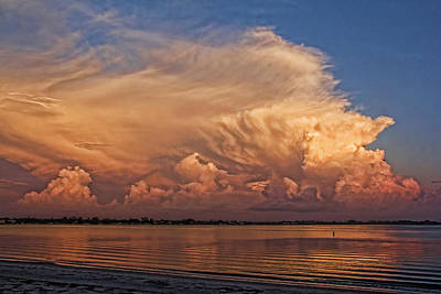 Fl Photograph - Florida Cloudscape by HH Photography of Florida